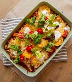 Kos, Nachos, Vegetable Pizza, Food And Drink, Dinner, Baking, Vegetables, September, Board