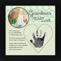 A wonderful keepsake handprint frame for your loved relatives. An adorable sentiment from a baby or child coupled with their sweet handprint is a gift that will always be treasured. The black 8×8 frame is suitable for either wall or table display. The frame features a round 3 photo space. A... more details available at https://perfect-gifts.bestselleroutlets.com/gifts-for-babies/toys-games-gifts-for-babies/product-review-for-baby-child-keepsake-handprint-frame-with-poetr