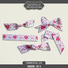 Ribbons Set 4 by Seatrout Scraps