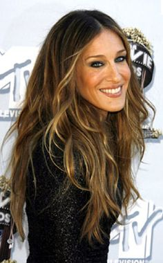SJP hair - like the color, style. Like it all actually.