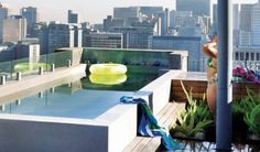 Need this on my roof top! City Living