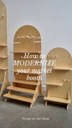 Vendor Displays, Craft Booth Displays, Market Displays, Clothing Booth Display, Vendor Booth, Display Ideas, Woodworking Shop, Woodworking Crafts, Woodworking Plans