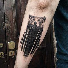Bear Tattoo - Danilo Delfino