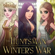 The Huntsman x Kim Kardashian: Hollywood, featuring exclusive looks inspired by The Huntsman: Winter's War