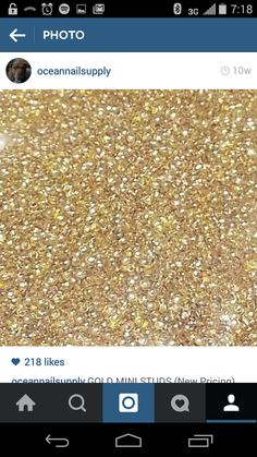 0.8mm, 1mm, 1.5mm, or 2mm gold stud 50 pics or 400 pcs (please scroll down to choose size) · ocean nails 2 · Online Store Powered by Storenvy