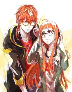 futaba and saeyoung! top tier ginger hackers