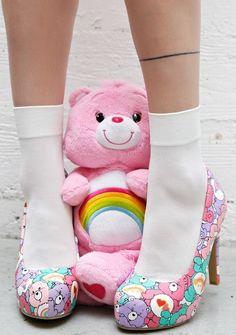 Iron Fist Grin & Bear It Heels | ♡ { (◑﹏◑) Kawaii Land } ♡ | Pinterest