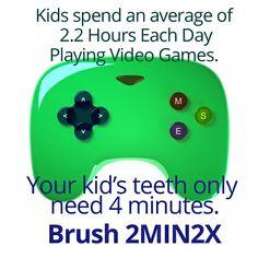 Brushing vs. Video Games Dr. Marc E. Goldenberg, Dr. Kate M. Pierce, and Dr. Matthew S. Applebaum Pediatric Dental Office Greensboro, NC