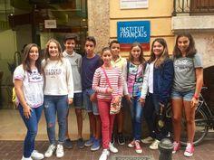 Ayer #ColegiosISP presentó a los alumnos más avanzados de la extraescolar de francés al examen A1 en el Institut Français de Valencia.  www.colegiosisp.com