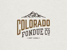 Colorado Fondue Co. Rebrand // 2