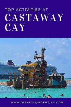 When you go on a Disney Cruise, you will hopefully get a chance to stop at Castaway Cay in the Bahamas. Check out the top 10 Castaway Cay activities! Disney Halloween Cruise, Disney Magic Cruise, Disney Fantasy Cruise, Disney Cruise Ships, Disney Christmas, Cruise Excursions, Cruise Destinations, Cruise Travel, Cruise Vacation
