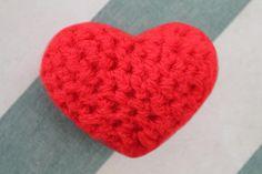 Corazón 3D a Crochet - Ahuyama Crochet - San Valentín