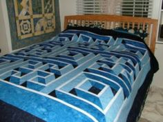 3D quilt -want to make for Jack's bed!