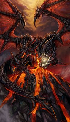Deathwing and Demon Soul  by ~SiaKim