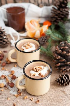 Homemade Nutella Eggnog | Gastro Senses