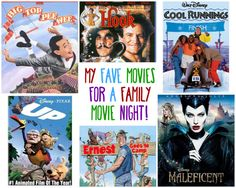 Make Family night a tradition at your house, and start with some great kid friendly (and adult fun) movies! Here's a list of our top picks to get you started. Grab some popcorn, and have fun!