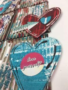 Corrugated Inspirational Art Cards – Canino's Artistic Cafe