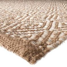 Threshold™ Diamond Area Rug - Natural