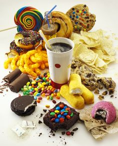 junck food | ... would you feel if your favorite junk foods contained exercise labels
