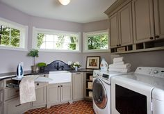 Algonquin Lane - traditional - laundry room - st louis - Karr Bick Kitchen and Bath Diy Bathroom Remodel, Bath Remodel, Large Laundry Rooms, Kitchen And Bath Design, Home Remodeling, Sweet Home, Home Appliances, House Design, Room Ideas