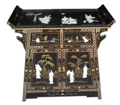 Features: Hand Painted: Yes Door Material: Wood Orientation: Vertical Product Type: Combi Chest Material: Wood Material Details: Wood Species: Woo