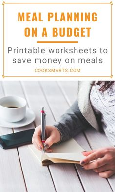Need good menu planning templates? Convinced you can't meal plan? Our Meal Plan Toolkit will help you learn how to meal plan for the week! Healthy Eating Meal Plan, Eat Healthy, Menu Planning Template, Cook Smarts, Pantry Essentials, Cooking For Beginners, Free Meal Plans, Inexpensive Meals, Cooking On A Budget