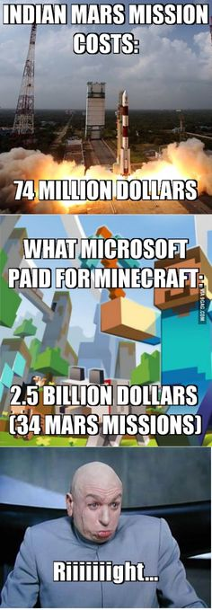 minecraft is awesome and Microsoft knows it