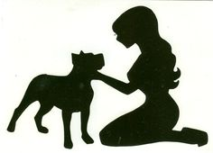 Hey, I found this really awesome Etsy listing at https://www.etsy.com/listing/204276090/pitbull-and-pin-up-silhouette-black