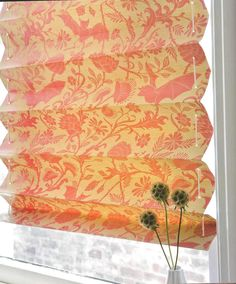 wall paper blinds, clever