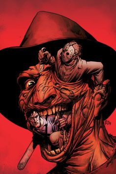 freddy krueger poster art | In summary, I can't recommend Freddy vs. Jason vs. Ash: The Nightmare ...