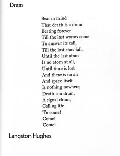 langston hughes poem analysis essay