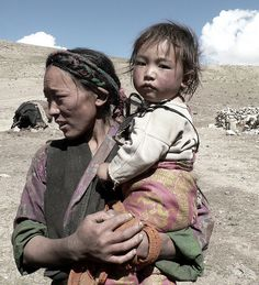 Isolated Life in Tibet