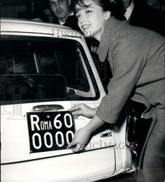 1963 Press Photo Actress Aba Cercato - KSB34521