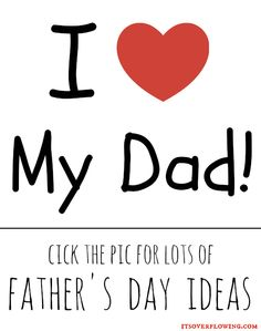 Don't You Love These Father's Day Crafts and Ideas!?! What Are Your Plans!?!