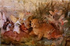 John Anster Fitzgerald, Cat Among the Fairies