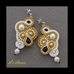 biżuteria,biżuteria artystyczna,haft sutasz,handmade,hand made,kolczyki,rękodzieło,sutasz,soutache, kolekcja 2011,LiAnna,srebro,