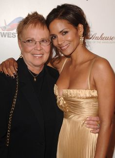 Pin for Later: 90+ Stars Being Sweet With Their Moms Halle Berry Halle Berry and her mom, Judith, snapped a photo together at Ebony's Pre-Oscar Celebration in February 2007.