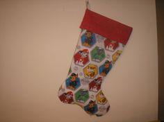 Paw Patrol Theme Christmas Stocking by tiffstotes on Etsy ...