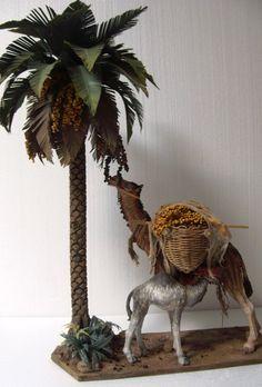 Foro de Belenismo - Índice de Artesanos Figuristas -> Jose Dominguez Miranda Miniature Palm Trees, Carved Wooden Animals, Wood Lamps, Woodworking Projects Plans, Trees To Plant, Plant Hanger, Diy And Crafts, Fantasy, Flowers
