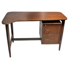 Mid Century Nine Drawer Lowboy Dresser Ward Furniture