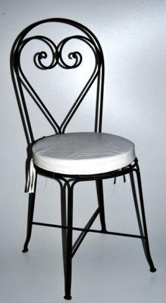 Meer dan 1000 idee n over smeedijzeren stoelen op pinterest smeedijzeren ijzeren tafel en stoelen - Smeedijzeren stoel en houten ...