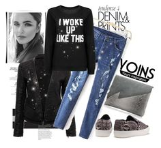 """Yoins 5"" by fashion-addict35 ❤ liked on Polyvore featuring women's clothing, women, female, woman, misses, juniors and yoins"