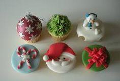 cupcakes crismas - Buscar con Google