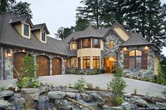 European Style House Plan - 3 Beds 3.5 Baths 4142 Sq/Ft Plan #48-625 Front Elevation - Houseplans.com