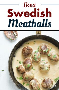 Ikea just released their famous recipe for Swedish Meatballs. Melt-in-your mouth meatballs covered in a creamy gravy that goes perfectly on top of your favorite pasta.