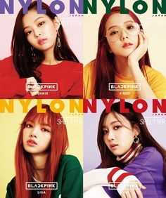 BLACKPINK Revs Up For Japanese Debut Through Collab With NYLON JAPAN And SHEL'TTER | Soompi