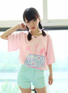 • kawaii pastel Asian fashion Japanese Fashion Harajuku street fashion pale Babydoll fairy kei Tokyo Fashion jfashion mahou shoujo asian girl dolly…   Pinterest