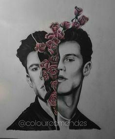 Fan art of Shawn Mendes
