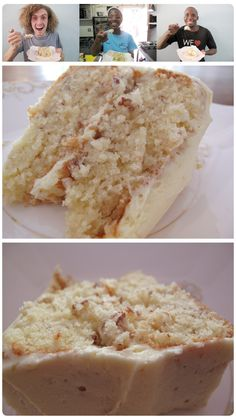 Maple Pecan Layer Cake