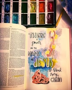 Jesus can break those chains that are bind you. He can take away the things that are weighing you down and making you so tired and broken. Give it to him! Call out for his help and he will answer! #chains #jesus #jesusart #jesuschrist #bibleart #bible #bibleartjournal #biblejournalingcommunity #biblejournaling #journaling #journalingbible #wirshipart#incouragearts by incouragearts